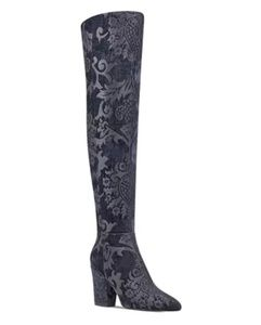 NWOB NINE WEST SIVENTA OVER THE KNEE BOOTS 7.5